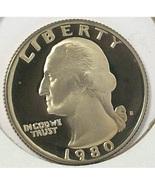 1980-S DCAM Proof Washington Quarter PF65 #0479 - $3.99