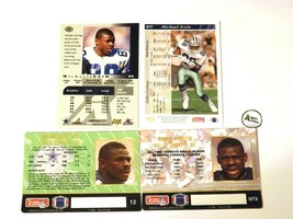 Michael Irvin #88 WR Dallas Cowboys Football Trading Cards AA-191703 image 2