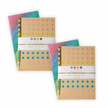 Pack of 2 Dylan's Candy Bar Notebook Sets, Contains 4 Total Notepads, 10... - $14.67
