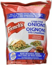 3 Pack French's Crispy Fried Onions Crunchy Toppers - Large 680g- Fresh Canada - $31.14