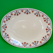 "Vintage (1983) Johnson Brothers (England) 12"" Oval Platter, Rare Danube Pattern - $8.95"