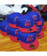 NEW ERA Atlanta Braves Cooperstown Collection Fitted Cap Blue 7 5/8 A [L... - $116.51