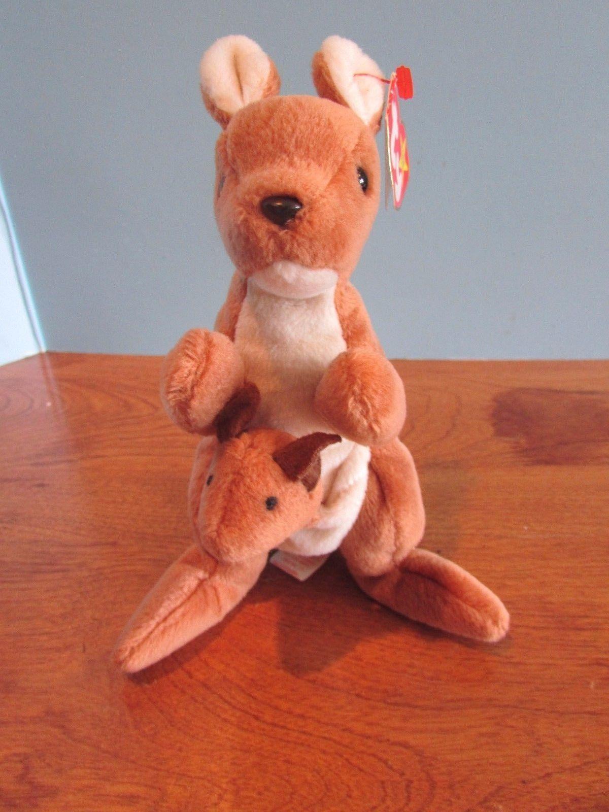 1df18e761d0 Ty Beanie Babies Baby Plush Kangaroo