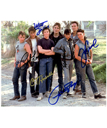 THE OUTSIDERS - BY 6 MEMBERS  Signed Autographed Cast Photo w/COA 1574 - $425.00
