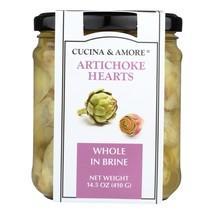 Cucina & Amore Artichokes Whole In Brine, 14.5 Oz - $35.99