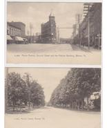 2 Warren, Pa. Post Cards Market St & Flatiron B... - $9.00