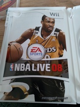 Nintendo Wii NBA Live 08 ~ COMPLETE image 2