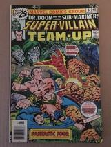 Super Villain Team Up #6 Marvel Comic Book 1976 FN+ DR DOOM & Sub-Mariner - $5.39