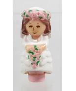 1989 Polly Pocket Doll Bridesmaid Polly - Nancy Bluebird Toys - $7.50