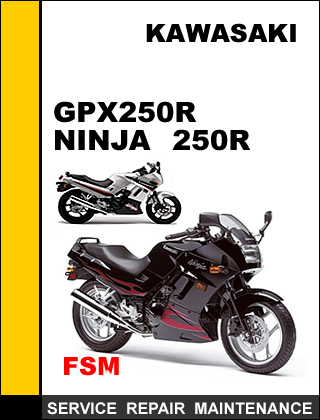 Kawasaki Gpx250 R Ninja 250 R Factory And 50 Similar Items