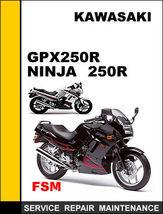 Kawasaki Gpz400 Gpz500 Z400 F Z500 F Z550 F Oem Repair Manual Access It In 24 Hours - $14.95