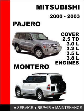 mitsubishi pajero montero 2000 2003 factory and similar items rh bonanza com 2001 Mitsubishi Montero Mitsubishi Montero Sport