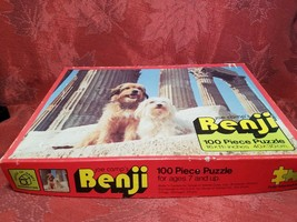 Vintage Joe Camps Benji Jigsaw Puzzle 100pcs House of Games image 2