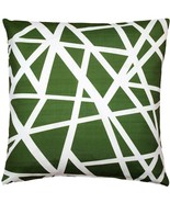 Pillow Decor - Bird's Nest Green Throw Pillow 20X20