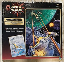 Star Wars Episode I Bravo Squadron Assault Puzzle Double Sided - $33.25