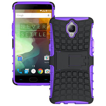Dual Layer Shockproof Armor Kickstand Phone Cover Case for OnePlus 3 - P... - $4.99