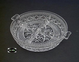 Imperial Cape Cod Relish Dish Round 4 Part Handled - $22.00