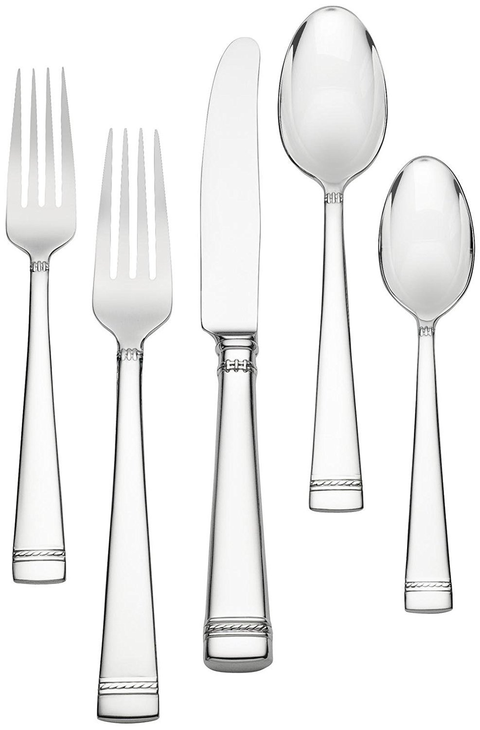 Porcelain China Vera Wang Wedgwood With Love 44 Piece Stainless Flatware Service For 8 New Pottery Porcelain Glass Ubi Uz