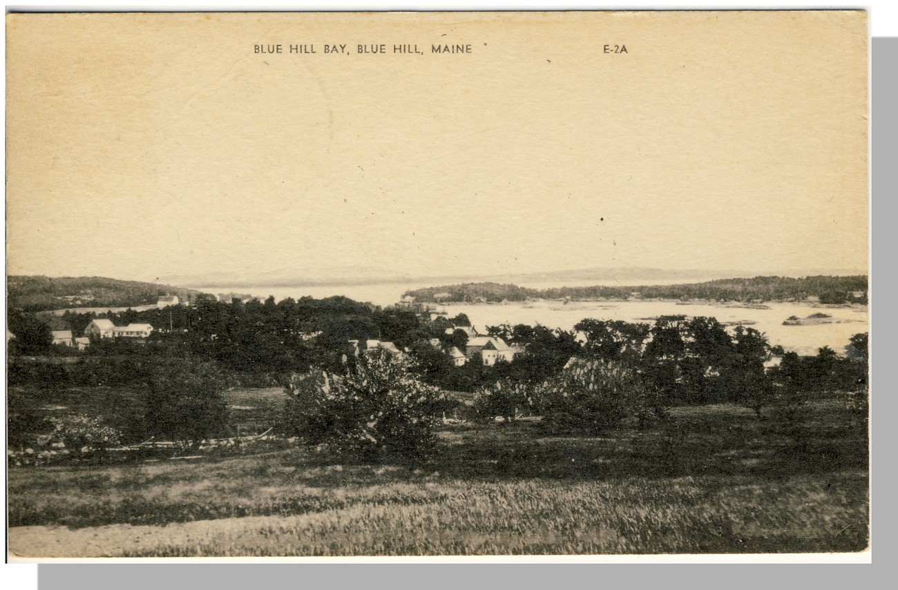 Nice Blue Hill, Maine/Me Postcard, Blue Hill Bay