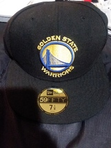 8Golden state warriors new era 59fifty fitted hat nwt size 7 1/8 retail ... - ₹2,180.24 INR