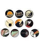 FRANZ FERDINAND take me out pin pinback button BADGE SET( 10 badges ) - $10.00