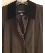 ANNE KLEIN II BROWN TRENCH COAT SIZE 6 - $47.99