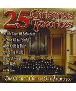 25 Christmas Favorites by Chancel Choir Cd - $11.99