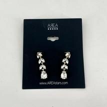 "AREA Stars Women's Crystal Drop Earrings 1.5"" Fashion Jewelry NEW NWT - $11.88"