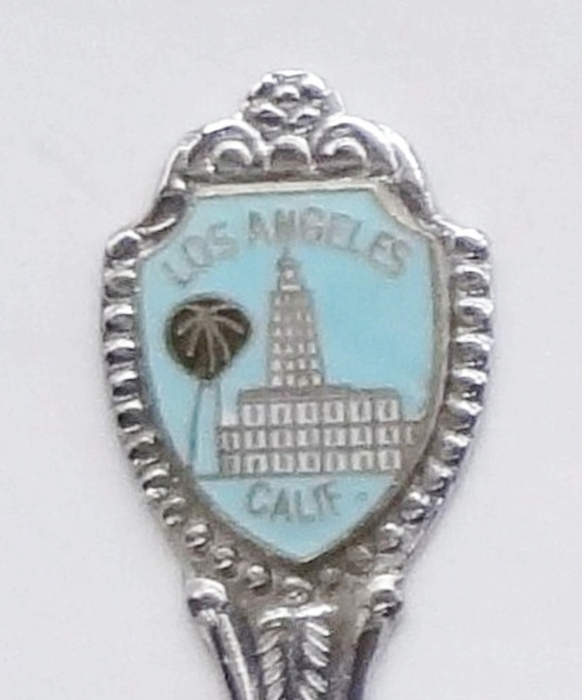 Primary image for Collector Souvenir Spoon USA California Los Angeles City Hall