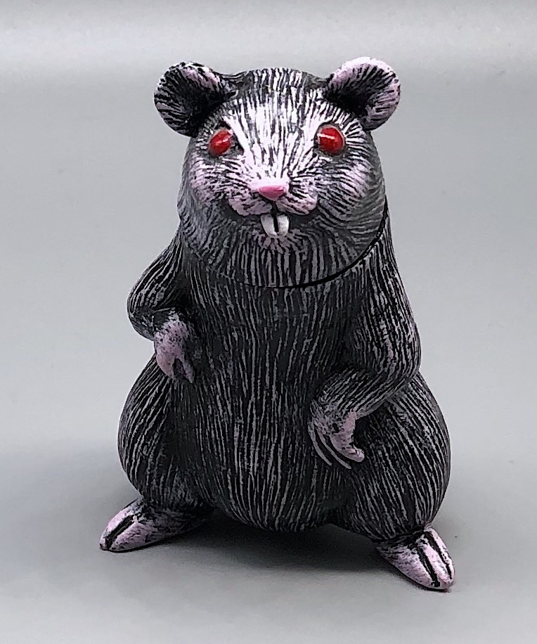 Max Toy Dry-Brush Oh-Nezumi Rat/Mouse Handpainted by Mark Nagata - Extremely Lim
