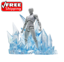 Effect Ice Iceberg Figuarts Figma D-arts rider 1/6 1/12 figure hot toys ... - $39.84