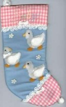 Christmas NEW Blue Baby Stocking - $24.26