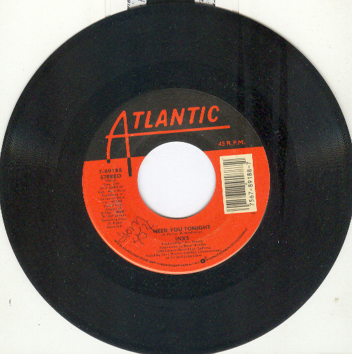 INXS 45 rpm Need You Tonight