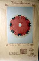 "Christmas Pattern 45"" "" Victorian Elegance"" Moire Tree Skirt - $5.00"