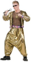 80'S VIDEO SUPER STAR, MC HAMMER, VANILLA ICE ICE BABY FANCY DRESS COSTU... - $79.50