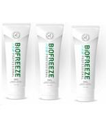 NEW Biofreeze Professional Gel 4 Oz Tube - Pack of 3 Green - $26.41