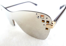 JIMMY CHOO Women's Sunglass MASK/S 99-0-135 Shield with Studs MADE IN IT... - $199.95