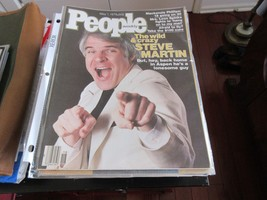 Steve Martin , People Magazine , 5/1/78 . Mackenzie Phillips , Leon Spinks  - $24.75