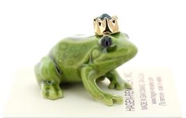 Hagen-Renaker Miniature Ceramic Frog Figurine Birthstone Prince 05 May image 2