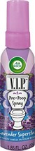 Air Wick V.I.Poo Toilet Perfume Lavender Superstar 1.85 Oz. Pack of 12