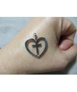 James Avery Retired  Christ's Love Heart Cross Pendant Only 925 Sterling... - $49.99