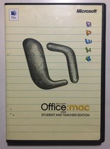 Microsoft Office 2004 For Mac Student And Teacher Edition Pre Owned - $19.79