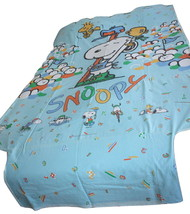 Vintage Snoopy Duvet Cover Olympic Sports Twin Bed - $87.12
