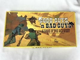 Cadaco Good Guys 'n Bad Guys A Game of the Old West Board Game 1973 - $69.95