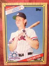 Senior Baseball Topps 1989#97 Dan Meyer - $0.99