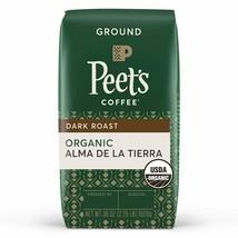 Peet's Coffee Dark Roast, Organic Alma de la Tierra, Ground, 36 Ounce, - $28.61