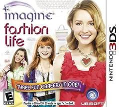 Ubisoft Imagine: Fashion Life (Nintendo 3DS, 2012)-New - $9.46