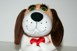 Gemmy Heart Hound Dog - Bats Eyelashes, Sways & Sings More Than Words By... - $16.09