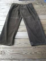 Woolrich Men Brown Corduroy Dress Pants 40x30  LODEN/Brown - $16.63