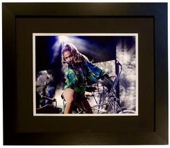 JENNIFER LOPEZ AUTOGRAPHED SIGNED 11X14 PHOTO IN THE BRONX CONCERT FRAM... - $225.00
